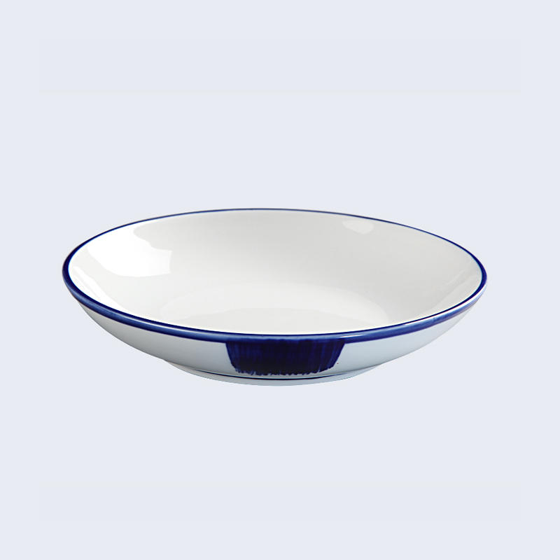 xiu green smoothly surface Two Eight blue and white porcelain