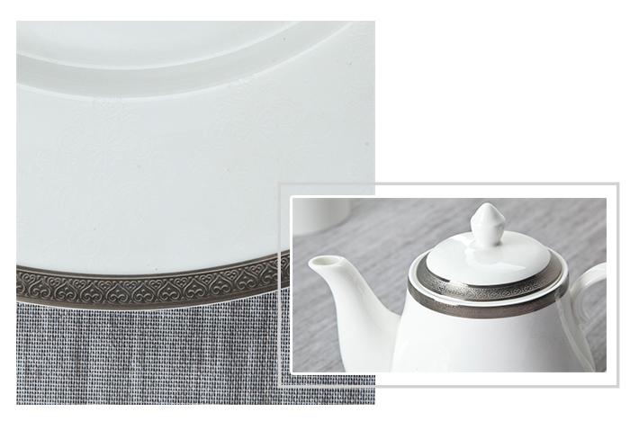 casual fine china tea sets Two Eight fine white porcelain dinnerware