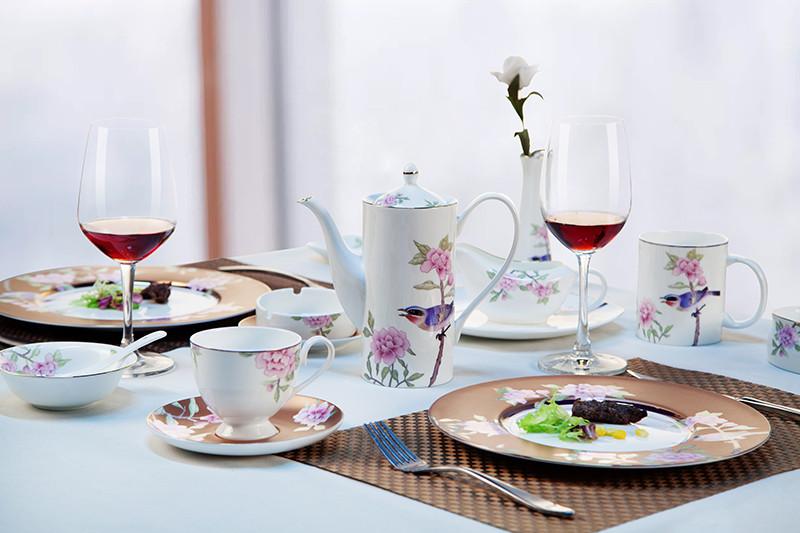 Custom fine china dinner sets Supply for dinner-13