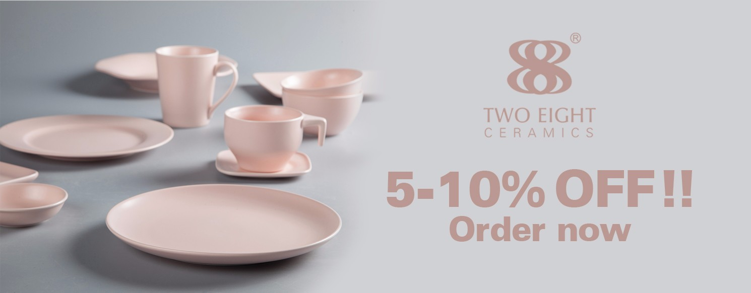 Two Eight stock restaurant dinner plates directly sale for home-35