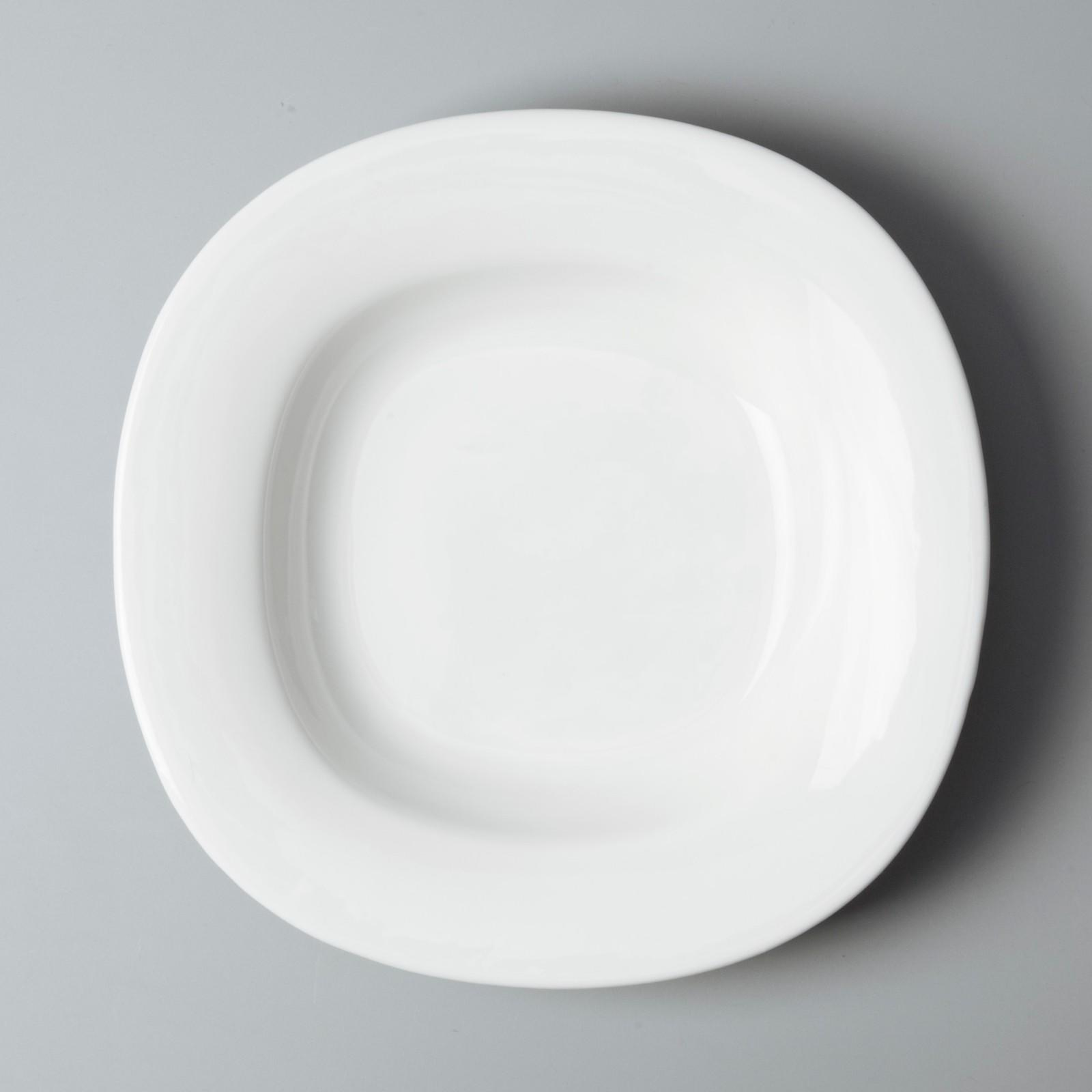hotel style white dinner sets stock Two Eight