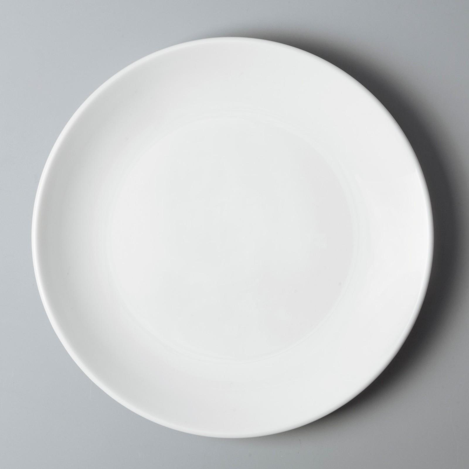 Two Eight bulk cheap porcelain dinner plates from China for dinner-4