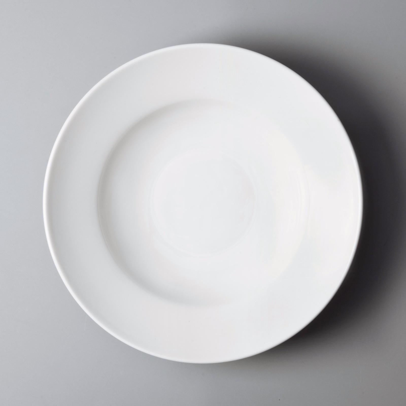 Two Eight bulk cheap porcelain dinner plates from China for dinner-7