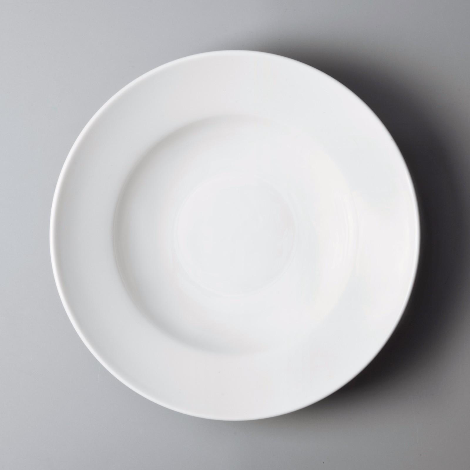 plate Custom restaurant surface two eight ceramics Two Eight elegant