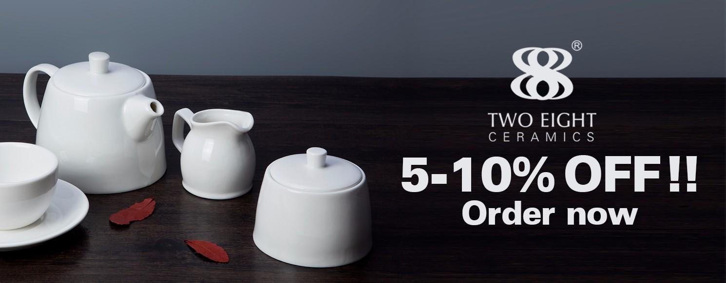 Two Eight bulk cheap porcelain dinner plates from China for dinner-10