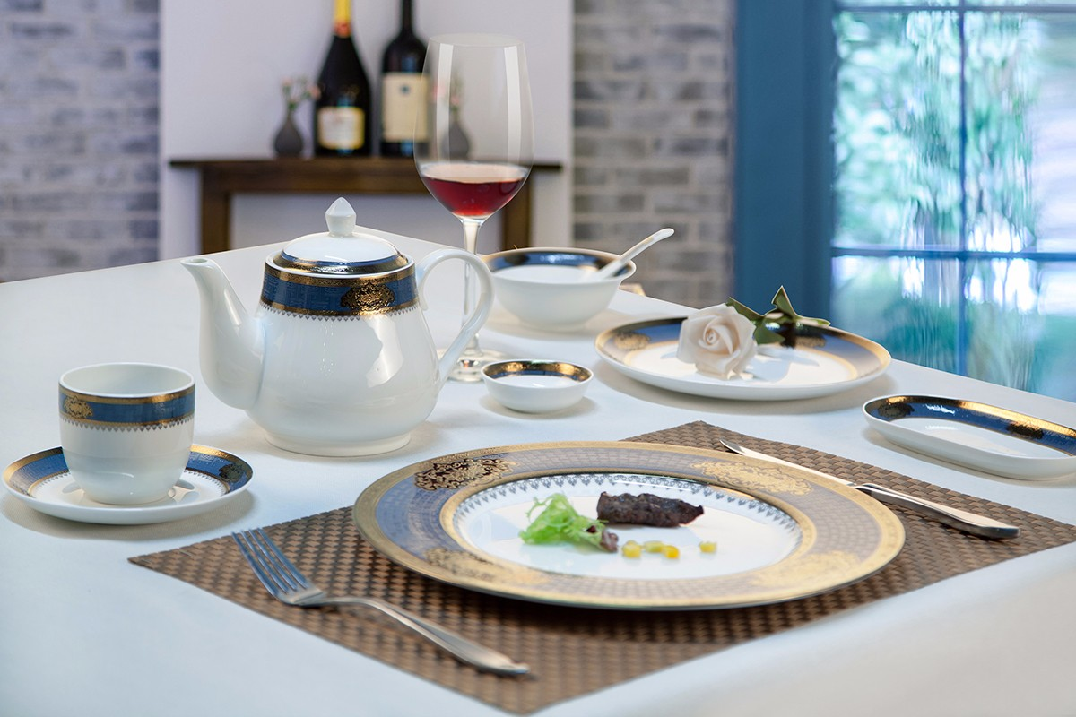 gold best bone china factory price for kitchen Two Eight-29