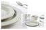 16 piece porcelain dinner set series blue and white porcelain Two Eight