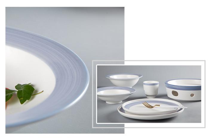Wholesale dinner 16 piece porcelain dinner set kitchen Two Eight Brand