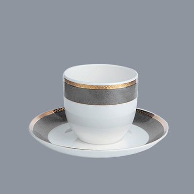 Custom italian fine china tea sets bone fine white porcelain dinnerware