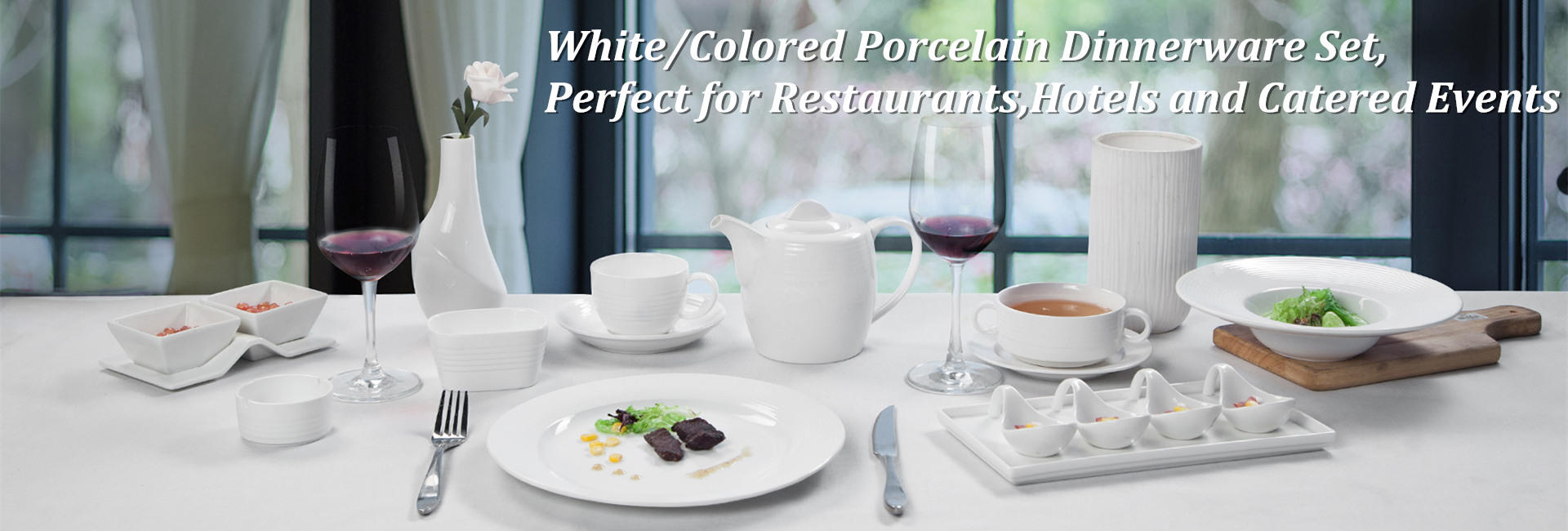 Porcelain Dinnerware Set Supplier