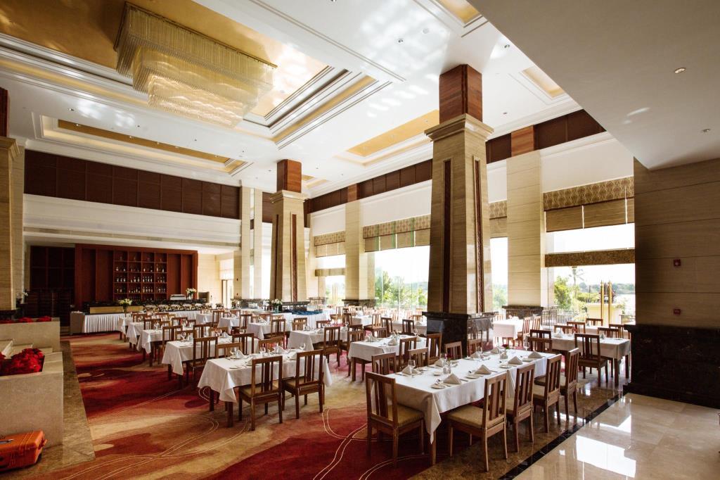 Two Eight-Custom Restaurant Dinnerware Landmark Mekong Riverside Hotel - 28 Ceramic Dinnerware Sets-2