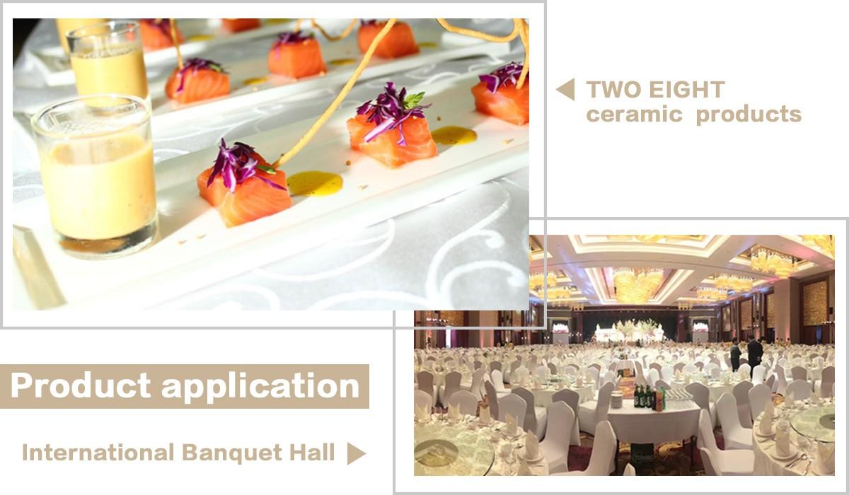 Two Eight-Custom Restaurant Dinnerware Landmark Mekong Riverside Hotel - 28 Ceramic Dinnerware Sets-5