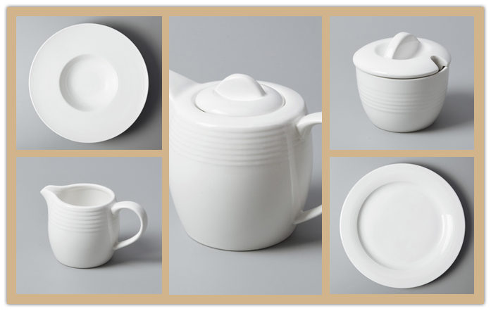 How does restaurant dinnerware help to present food-2