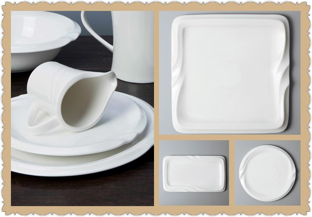 Things you want to know about white ceramic dinner plates bulk-2