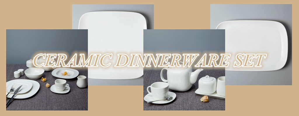 CERAMIC DINNERWARE SET-2