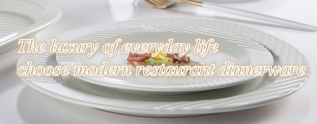 The luxury of everyday life choose modern restaurant dinnerware-2