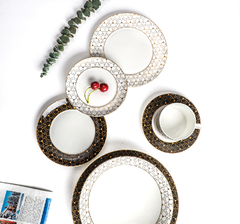 202004 COLOR BONE CHINA DINNERWARE