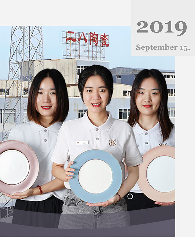 news-Porcelain Dinnerware Factory Live Stram in ChaoZhou-Two Eight-img