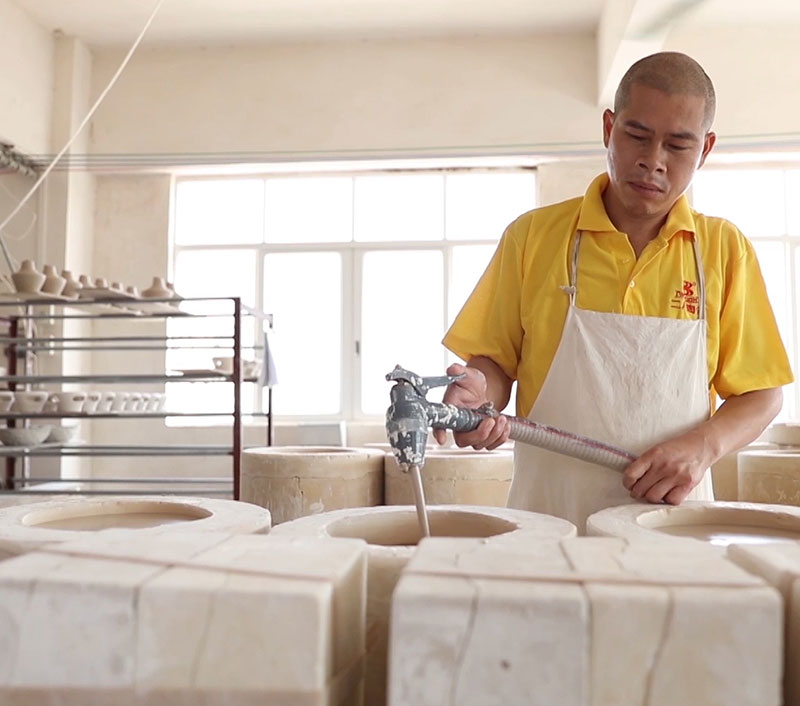 news-Porcelain Dinnerware Factory Live Stram in ChaoZhou-Two Eight-img-1