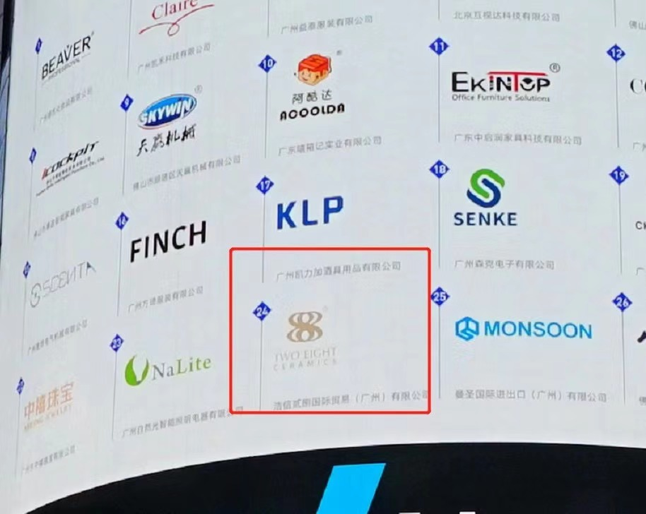 news-Haoxin Two Eight Ceramics was listed on the Nasdaq screen in Times Square, New York-Two Eight-i