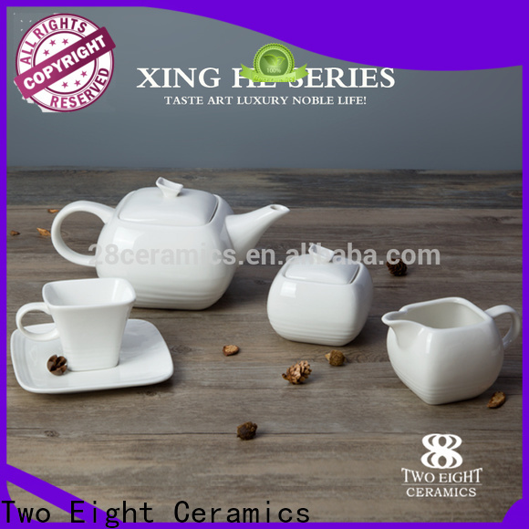 Two Eight bone china tea cup set manufacturers for home