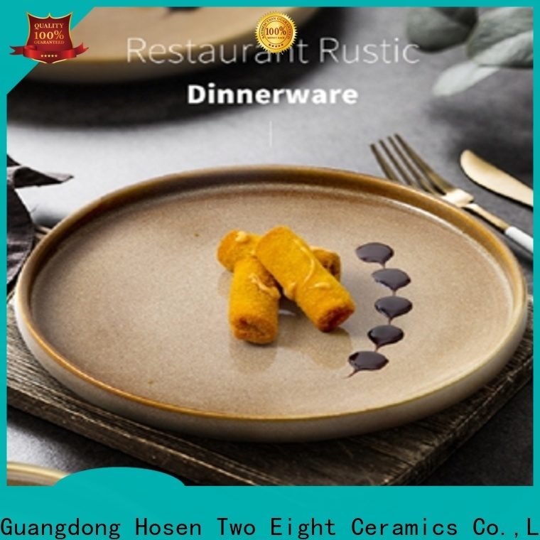 High-quality high quality porcelain dinnerware for business for restaurant
