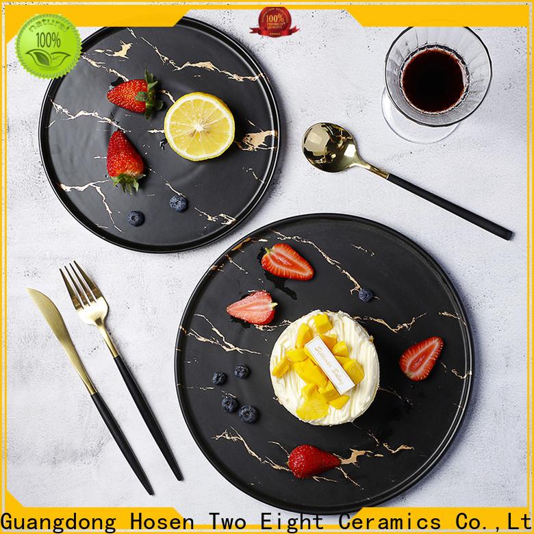 Best porcelain plates company for bistro