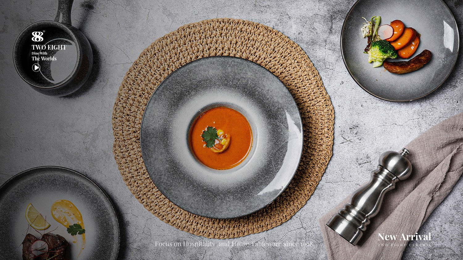 news-Two Eight-Different Types Of Dinnerware Used In Hotels And Restaurants-img