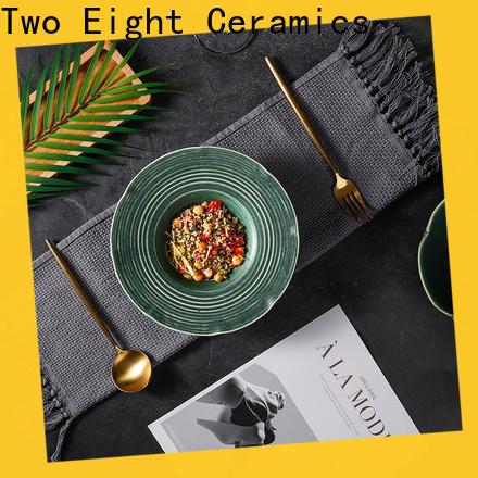 Two Eight discount restaurant dinnerware Supply for dinner