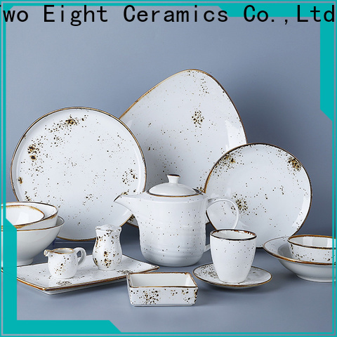 Two Eight High-quality restaurant plates and cutlery manufacturers for kitchen
