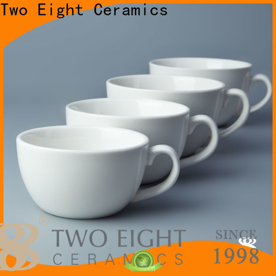 Wholesale porcelain coffee cups for business for restaurant