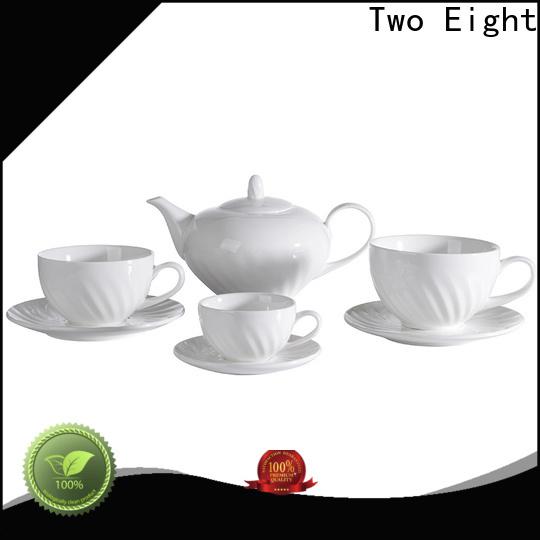 Custom bone china tea set for business for kitchen