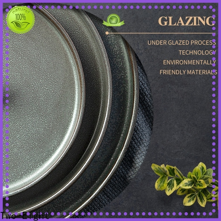 Two Eight restaurant plates and cutlery manufacturers for home