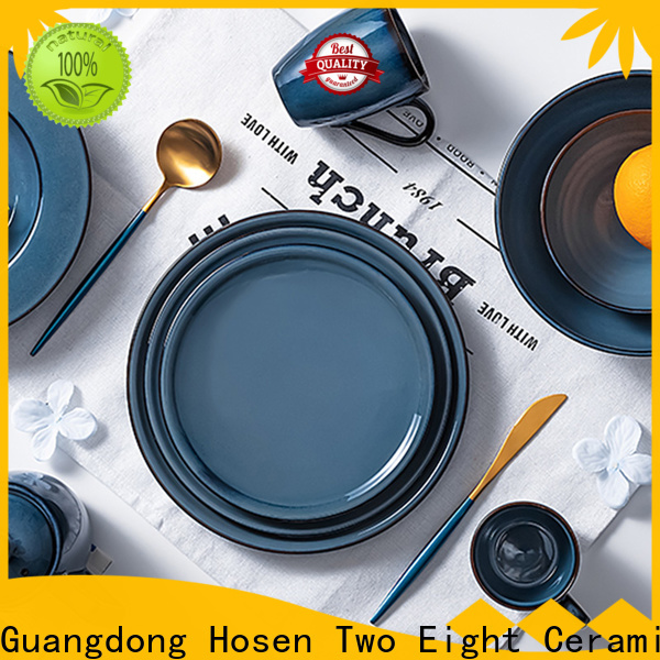 Two Eight cheap restaurant dinnerware for business for hotel