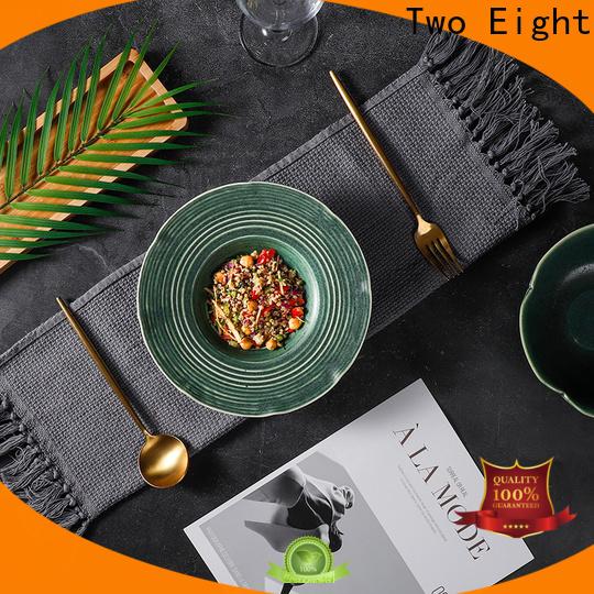 Two Eight restaurant quality dinnerware Supply for restaurant