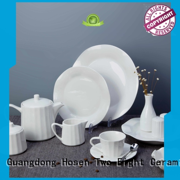 Two Eight rim hotel dinnerware wholesale series for home