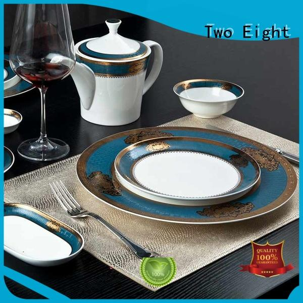 Two Eight classic restaurant crockery suppliers wholesale for bistro