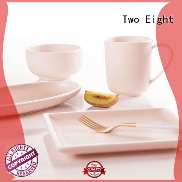 elegant su white Two Eight 16 piece porcelain dinner set