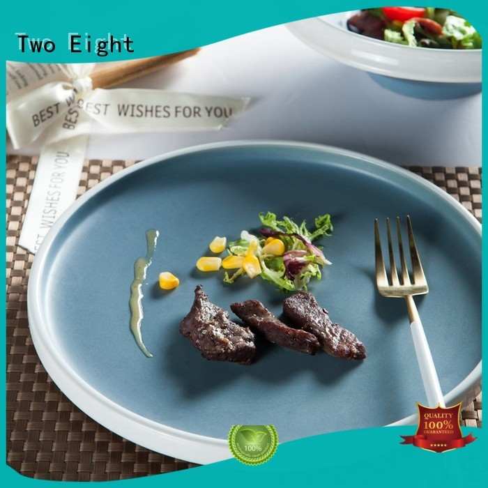 brown cheap porcelain dinner plates directly sale for home Two Eight
