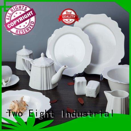 royal white dinner sets glaze square Two Eight