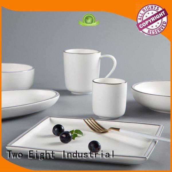 16 piece porcelain dinner set restaurant modern hong Two Eight