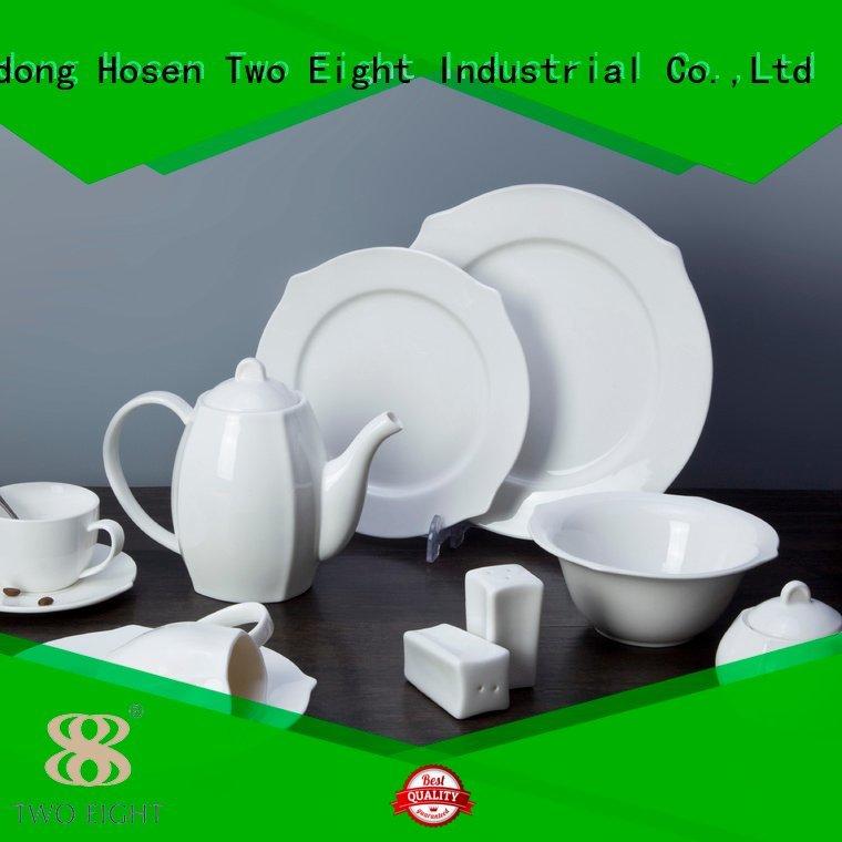 white porcelain tableware dinnerware surface white dinner sets Two Eight Warranty
