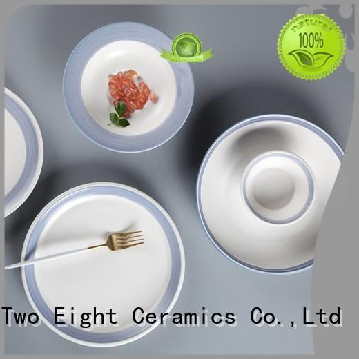 fresh restaurant style dinner plates directly sale for restaurant Two Eight