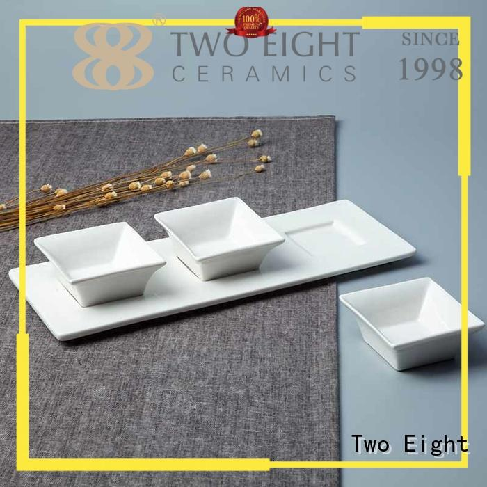Two Eight porcelain catering crockery sets