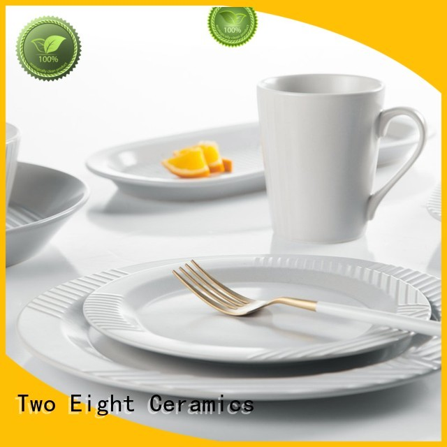 Two Eight Wholesale commercial restaurant plates Supply for restaurant