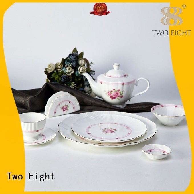 Two Eight Brand mixed contemporary white golden two eight ceramics