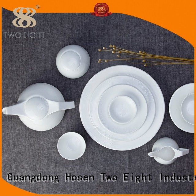 Two Eight Brand smooth white two eight ceramics manufacture