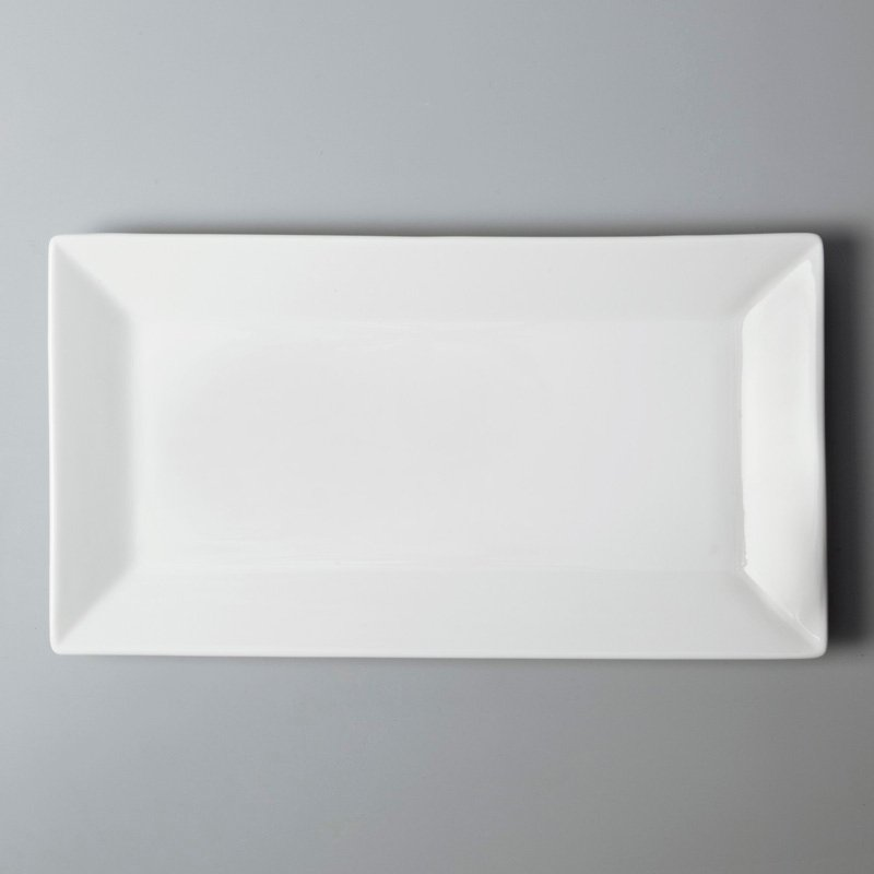french style cheap white porcelain dinnerware customized for hotel Two Eight-4