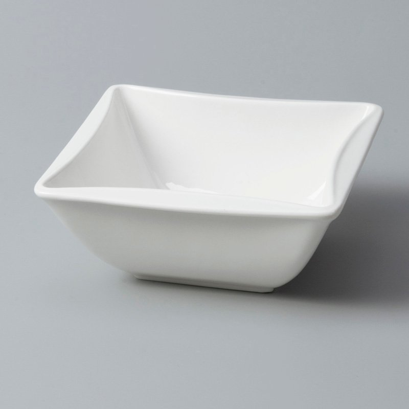 plate modern irregular white porcelain tableware Two Eight manufacture