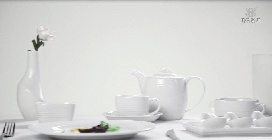 High-grade Hotel & restaurant tableware sets display